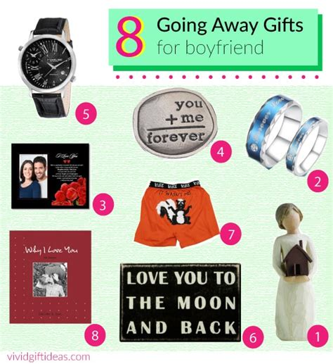 whats a gift for a boyfriend 8 going away gift ideas for boyfriend s