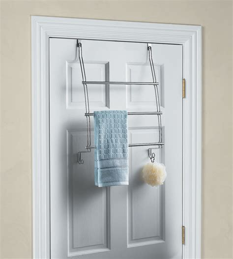 the door towel racks interdesign chrome the door towel rack in the door towel racks
