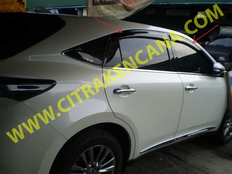 Talang Air Toyota Aveo jual talang air new toyota harrier citra kencana