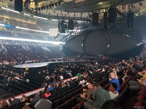 section 12 photography united center section 102 concert seating rateyourseats com