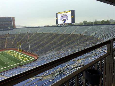 soccer game at the big house action underway as weather delays third day of high school battle at the big house