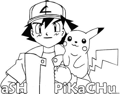 pokemon coloring pages pikachu ex pok 233 mon ash e pikachu para colorir colorir org