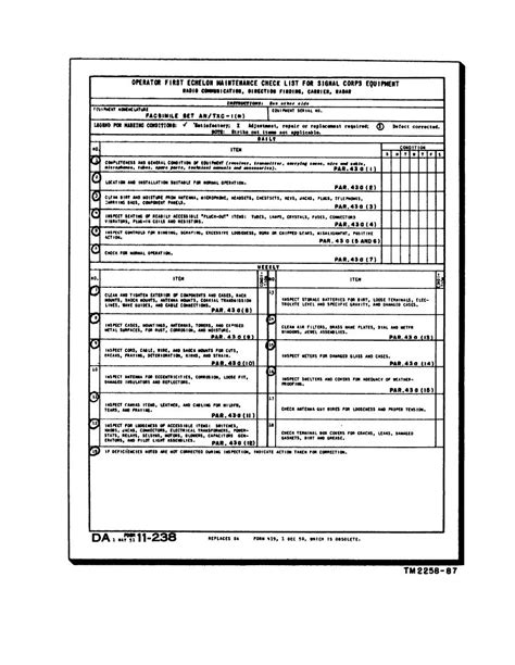 preventive maintenance form template hvac maintenance checklist form http www osborncastle