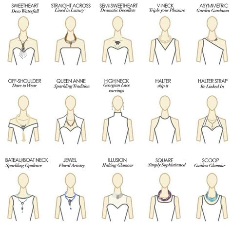 hairstyles for neck lines summer wedding jewelry how to choose the right necklace