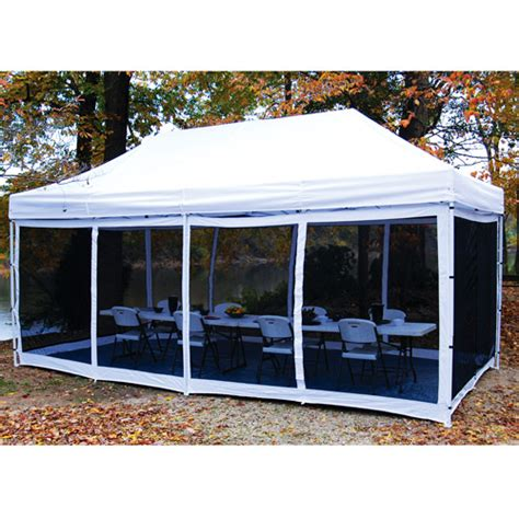 Pop Up Cer Screen Room by King Canopy 10 X 20 Ft Explorer Bug Screen Room Walmart