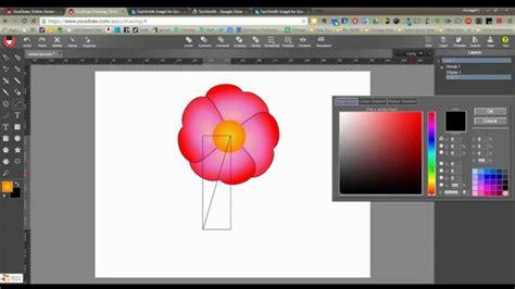 tutorial logo creator español youidraw flower tutorial youtube