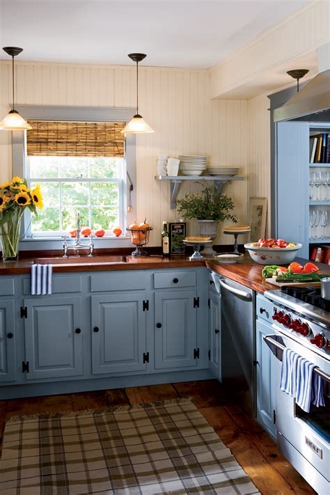 country kitchen cabinet colors 15 ways to add color to your kitchen sag harbor open