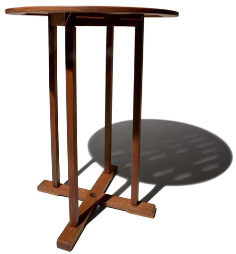 Bradford Esszimmermöbel Kollektion strathwood bradford runder bartisch aus wetterfestem hartholz