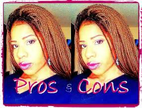 crochet braids update pre twisted hair pros cons