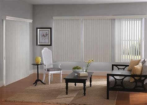 Living Room With Vertical Blinds Vertical Blinds