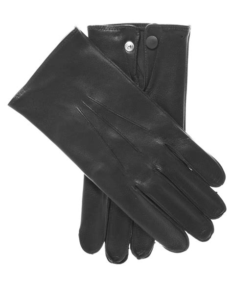 L 856 Black rcmp s dress leather gloves by raber gloves free usa