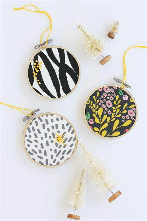 and loisdiy embroidery hoop ornament and lois - Embroidery Ornaments