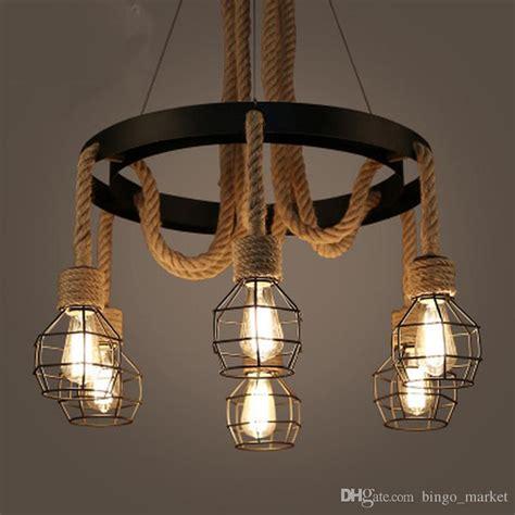 American Made Lighting Fixtures American Style Retro Industry Loft Iron Lights Creative Personality Living Room Restaurant