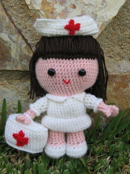 amigurumi nurse pattern amigurumi enfermera en crochet algunos trabajos en