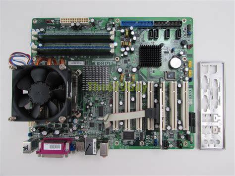 Ram Cpu Pentium 4 dfi itox g7v600 b motherboard pentium 4 3 4ghz cpu 1gb