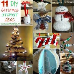 love these diy ornament ideas from thespacebetweenblog net