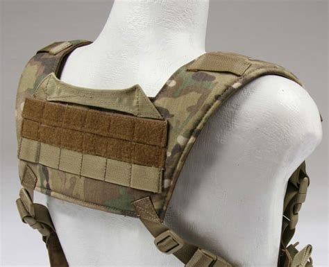 h harness hydration carrier padded harness velcro id chest rig drag handle beez