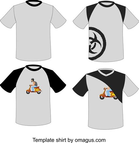 T Shirt Template Design By Omagus On Deviantart Fashion Design T Shirt Templates