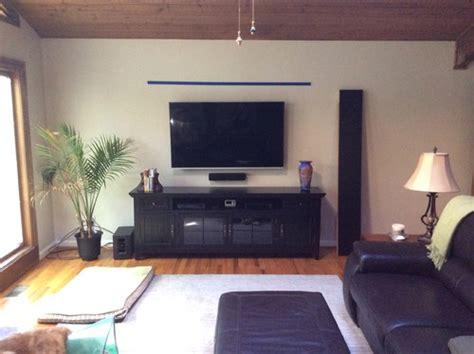 floating shelf or no floating shelf tv