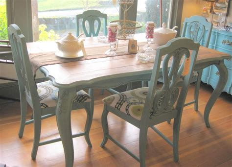 painted dining room set 126 best images about painted dining set on pinterest