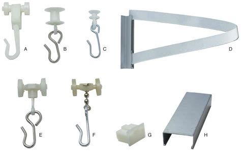 curtain accessories cubicle curtain accessories healthcare supply pros