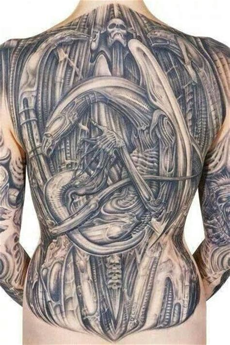 r tattoo h r giger tattoos by adam collins new