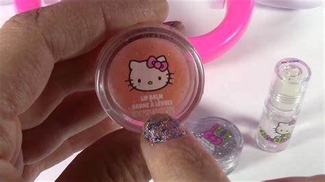 Hello Set Make Up hello makeup vanity light up mirror brushes