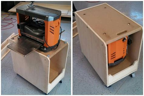 thickness planer stand woodworking projects plans