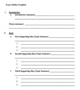 Free Essay Template search results for 5 paragraph essay outline printable