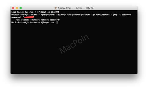 Wifi Untuk Komputer cara melihat password wi fi di komputer via terminal macpoin