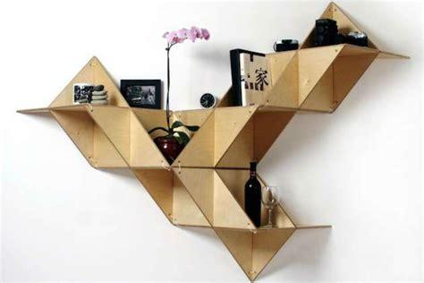 Origami Furniture Design - abstract geometric furniture designs