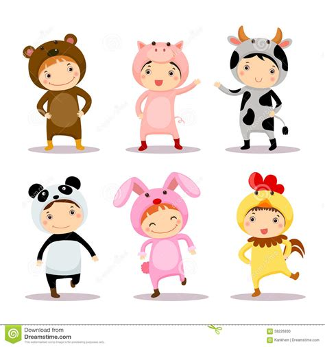 fancy dressed animals a collection of illustrations books illustration of wearing animal costumes stock