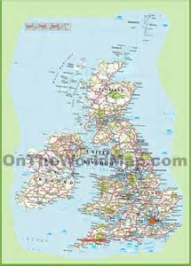 Detailed Map Of England by Similiar Detailed Map Of England With Roads Keywords