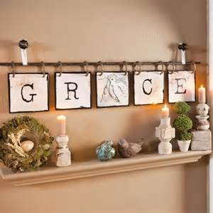 blessings unlimited home decor grace wall hanging diy makers gotta make pinterest
