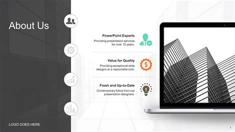 free business lady powerpoint template
