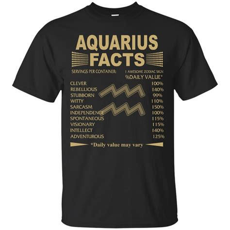 Tshirt Zodiak Aquarius aquarius zodiac t shirt aquarius facts tank top