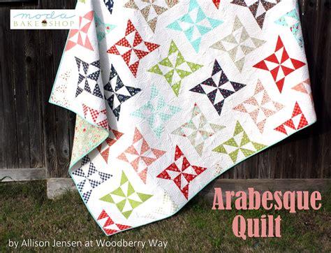 Arabesque Quilt Pattern | arabesque quilt 171 moda bake shop