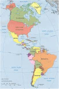 map of usa and south america america political map