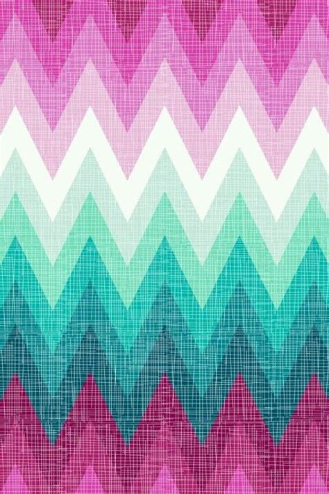 wallpaper pink mint pink mint and white ombre chevron phone wallpaper