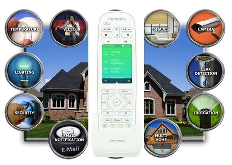 logitech targets home automation play with harmony living