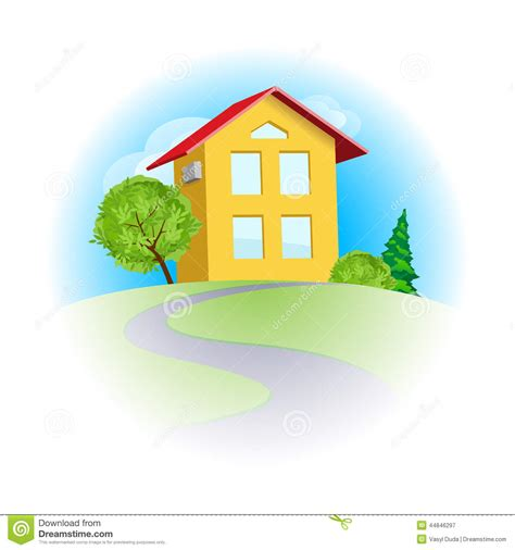 images home home sweet home stock vector image 44846297