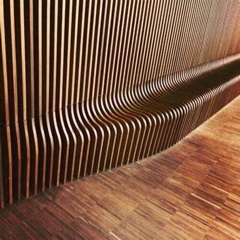 wood slats wood slat wall to bench all cnc milled magazine 2016 1