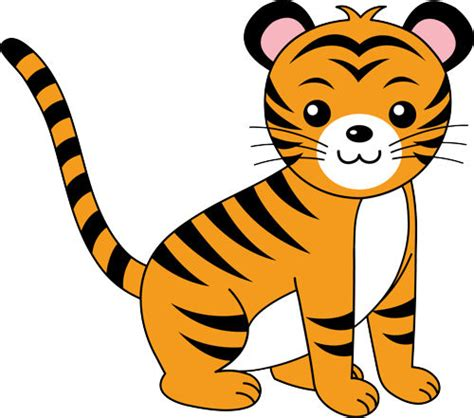graphics clipart baby tiger clip clipart panda free clipart