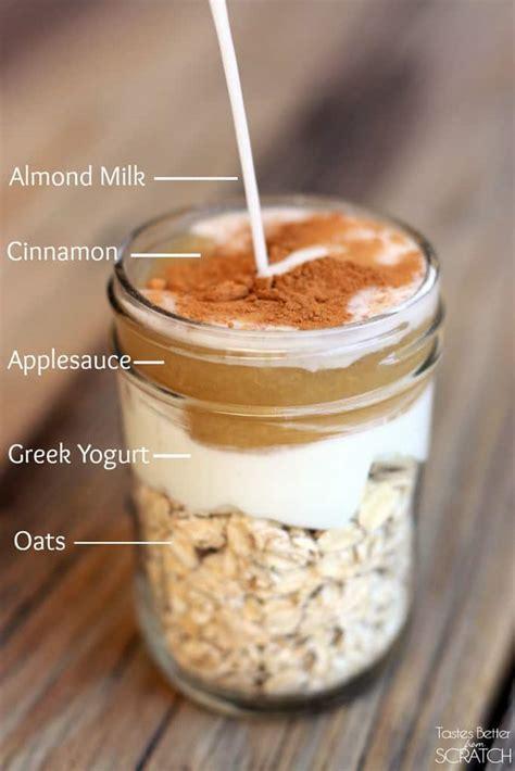 Oatlab Apple Cinnamon Overnight Oat cinnamon apple overnight oats tastes better from scratch