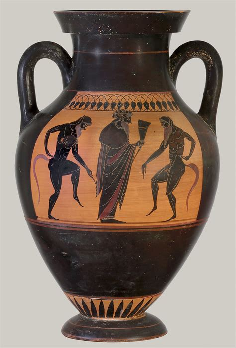 Athenian Vase by Black Figure Vase Painting