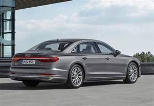 Audi A8 2018 Audi A8 Officially Revealed Performancedrive