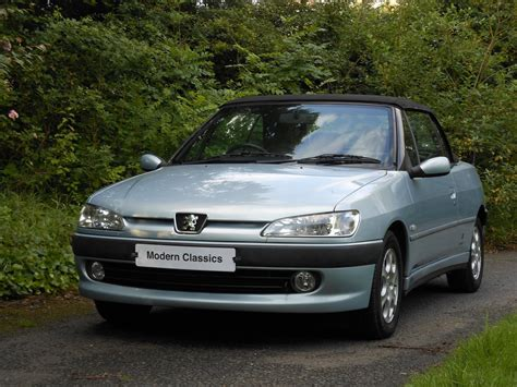 peugeot car 306 used 2000 peugeot 306 cabriolet s for sale in lancashire