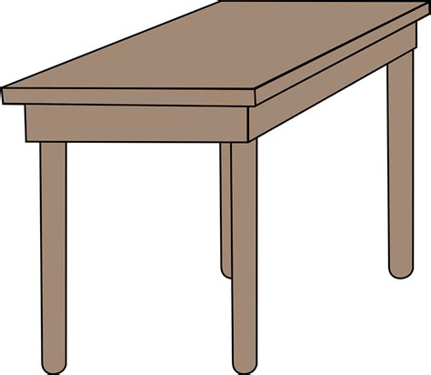 images of desks free vector graphic desk furniture school table free