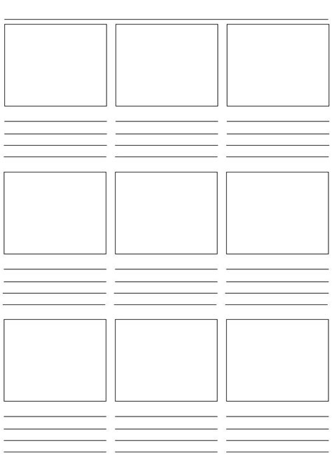 storyboards template 7 best images about storyboard on creative
