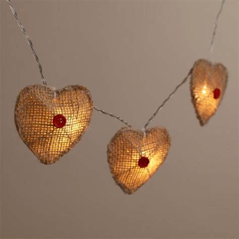 burlap lantern string lights burlap 10 bulb battery operated string lights world market